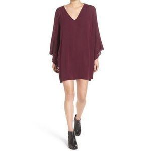 Nordstrom Lush Whitney Bell Sleeve Dress